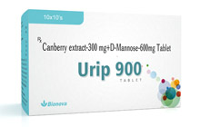 Cranberry extracts D mannose tablets