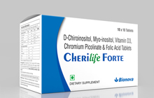 D-chiroinositol, mmy-inositol, vitmain d3 chromium picolinate & folic acid tablets