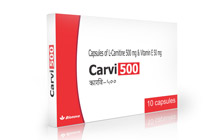 L carnitine 500mg with vitamin e 50mg capsules