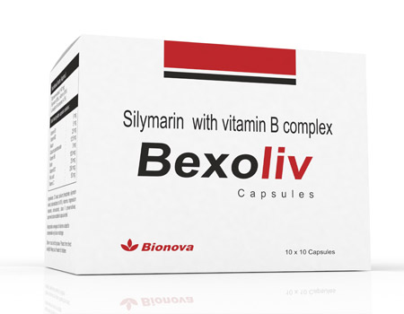 Silymarin with Vitamin B complex Capsules