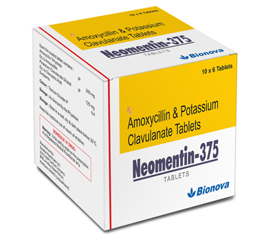 NEOMENTIN-375 Tablets