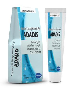 Acne Treatment Acne Vulgaris Adapalene Benzoyl Peroxide